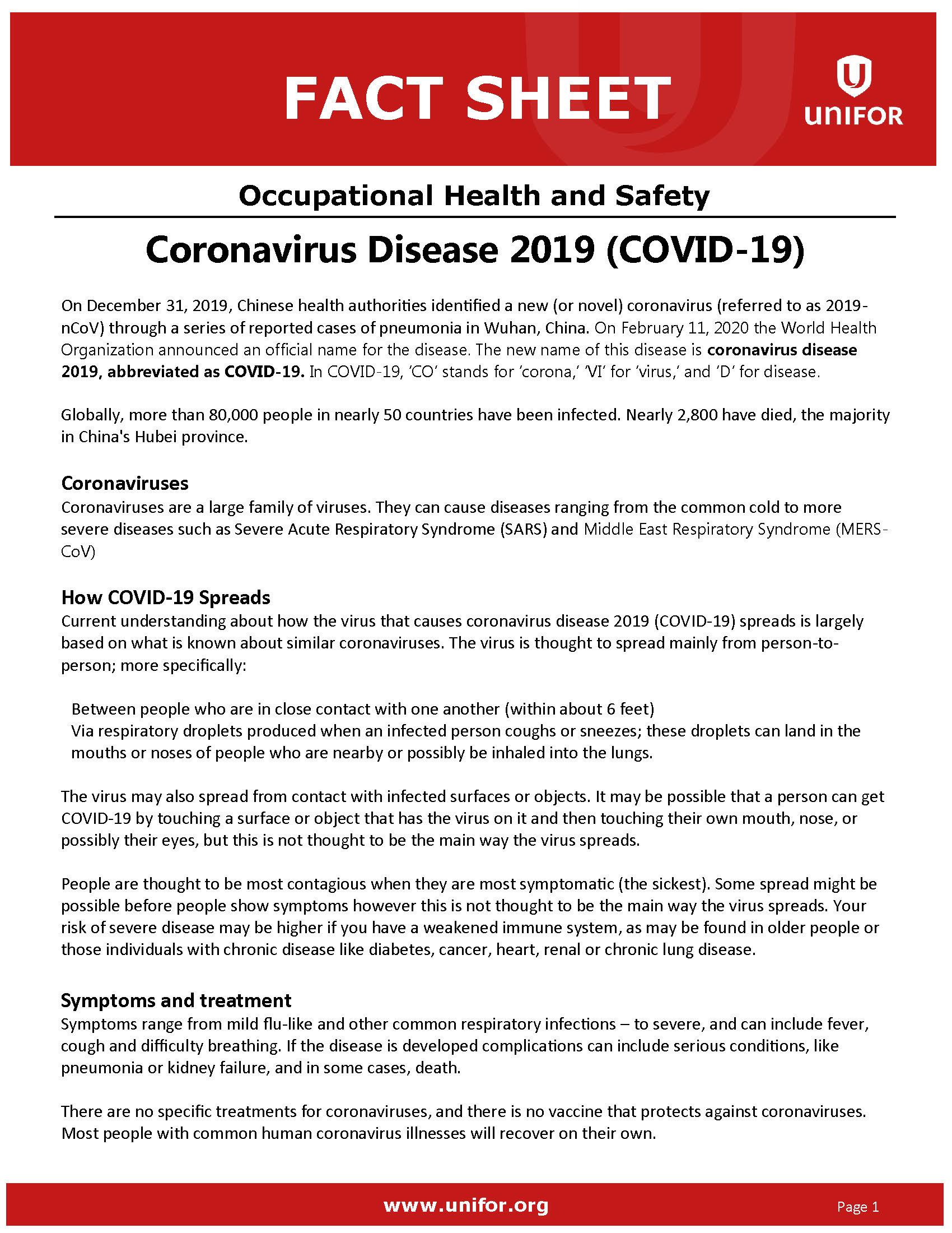 Coronavirus - Fact Sheet 2020 Mar. 13_Page_1